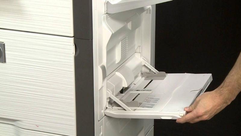Khay hông máy photocopy