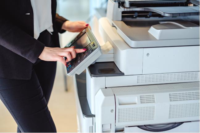 Máy photocopy với nhiều tính năng hiện đại