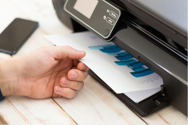 Sử dụng máy photocopy để Fax tài liệu